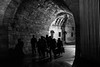 Travel in groups (Özgür Gürgey) Tags: 2016 50mm bw d750 darkcity eminönü nikon architecture evening lowlight shadows silhouettes street istanbul flickrfriday