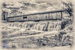 Watson Mill Covered Bridge (The Suss-Man (Mike)) Tags: bridge broadriver carlton coveredbridge georgia madisoncounty old sonyalphadslra550 sussmanimaging thesussman water waterfall watsonmillbridgestatepark watsonmillcoveredbridge