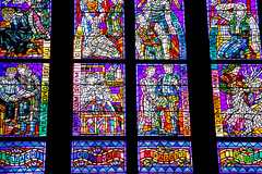 St Vitus Cathedral, Prague Castle (Carneddau) Tags: czechrepublic czechia hradany prague praguecastle praha stvituscathedral stainedglasswindows