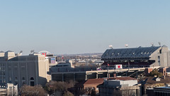 Big Red Stadium (Codydownhill) Tags: football game huskers big red sports portrait trophy brother dad