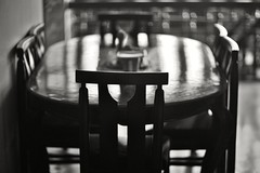 Where no one dines (N A Y E E M) Tags: table chair dining light shadow afternoon 1stfloor home rabiarahmanlane chittagong bangladesh availablelight indoors bokeh