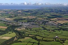 Wadebridge in Cornwall - aerial UK view (John D F) Tags: wadebridge cornwall aerial aerialphotography aerialimage aerialphotograph aerialimagesuk aerialview britainfromabove britainfromtheair
