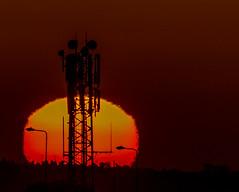 setting sun (coffee robbie) Tags: red sigma150500mm sunset nikond5100 nikon youghal cork ireland eire eochill