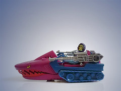 Land Shark Master of the Universe (zeploctoys) Tags: landshark tiburon eskeletor skeletor motu masteroftheuniverse heman figures figure figuras figura juguete juguetes toy toys actionfigures tank mattel eternia