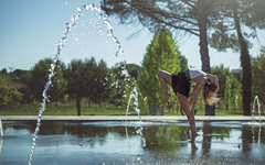 (dimitryroulland) Tags: nikon d600 85mm 18 dimitry roulland natural light sun montpellier france urban street city dance dancer gym gymnast gymnastics performer art