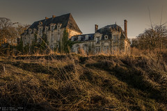 Whats done in the dark will come to light (Dennis van Dijk) Tags: kasteel schloss castle chateau des singes abandoned forgotten decay exterior outside outdoor winter light moody derelict urban exploration urbex canon travel wanderer france europe eu ue