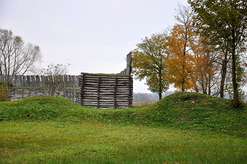 Lusitian culture stronghold in Biskupin