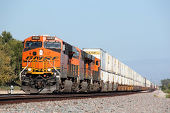 BNSF Intermodal train (k3907492) Tags: train freight bnsf intermodal es44ac es44