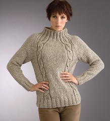 Style in cabled turtleneck knitwear (Mytwist) Tags: irish sexy lady female cozy sweater mixed women craft cable oatmeal attitude turtleneck raglan milf flecked textured femdom dominatrix eyelet knitwear rollneck patonsyarns
