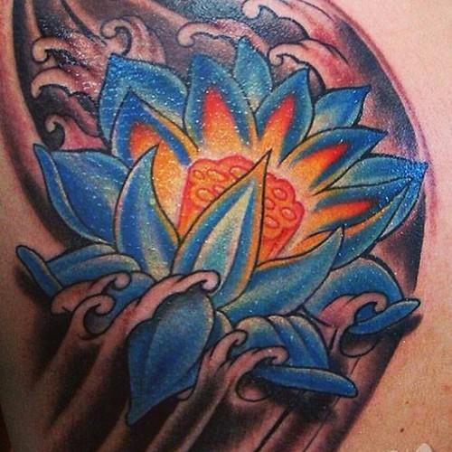 Jb Flores Blumen Flordelotus Flores Floral Tatuagem
