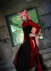 Fanime 2015: Black Lady (Eras Photography) Tags: sailormoon animecosplay sailorscouts chibimoon blacklady wickedlady sailormooncosplay smalllady fanime2015 wickedladycosplay sailormoonwickedlady blackladycosplay sailormoonblacklady chibimoonblacklady
