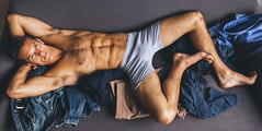 Photo Shoot : Chace W (jkc.photos) Tags: shirtless portrait man male model photoshoot underwear body muscle physique