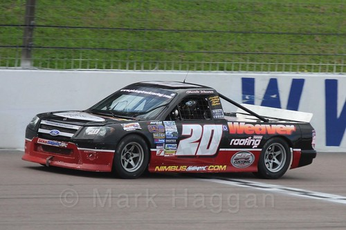 Charlie Weaver Pick Up Truck Racing, Rockingham, Sept 2015