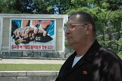 Joe Dresnok the US soldier who defected to North Korea in 1962, protagonist of the Koryo Tours film 'Crossing the Line' (KoryoTours) Tags: people korea communist socialist northkorea dprk crossingtheline koryo defector koryotours usdefector joedresnok