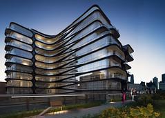 Проект жилого комплекса для Нью-Йорка от Zaha Hadid Architects
