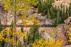 Phall colors at Phantom (kdmadore) Tags: railroad train colorado steam chama freight steamengine narrowgauge riogrande steamlocomotive antonito cumbrestoltec drgw denverriograndewestern k36