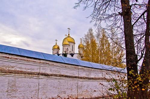 Cathedral of Nativity of Holy Virgin, Luzhetsky Monastery, Mozhaysk, Moscow Regoin.