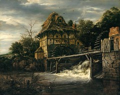 ruisdael_two_undershot_watermills_with_men_opening_sluice_1650 (Art Gallery ErgsArt) Tags: museum painting studio poster artwork gallery artgallery fineart paintings galleries virtual artists artmuseum oilpaintings pictureoftheday masterpiece artworks arthistory artexhibition oiloncanvas famousart canvaspainting galleryofart famousartists artmovement virtualgallery paintingsanddrawings bestoftheday artworkspaintings popularpainters paintingsofpaintings aboutpaintings famouspaintingartists