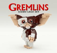 Gremlins Gizmo LEGO Set - 3 (buggyirk) Tags: set movie lego retro 80s gizmo ideas gremlins moc afol buggyirk