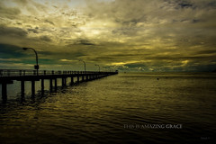 This is AMAZING GRACE (J316) Tags: sunset wet water sony horizon penang a77 j316 ps6 gertaksanggul