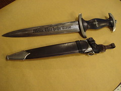 "AUTHENTIC GERMAN SS DAGGER BY BOKER, EARLY, EXCEPTIONALLY CLEAN. • <a style=""font-size:0.8em;"" href=""http://www.flickr.com/photos/51721355@N02/22598994182/"" target=""_blank"">View on Flickr</a>"