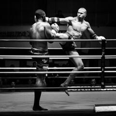 DSC01804 (Fabien Corrente) Tags: noiretblanc thai fighters fighting muay muaythai muaythaï