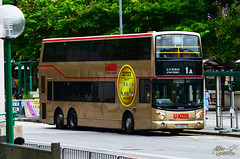 Retirement of the first super low floor double decker bus in the world (Jethro ~ C.P.C) Tags: world red k gold floor low first super double line 1997 dennis 1a retirement trident decker retire 12m 2015 kmb atr1 hj2127