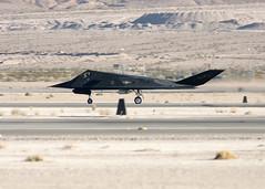 84-0809_F-117A_ACC_KLSV_6678 (Mike Head -Jetwashphotos) Tags: usa america us nevada nv lockheed nighthawk f117a nellisafb jwp lsv klsv 9thfs