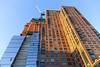 High Line - New York City (USA) (Meteorry) Tags: park nyc newyorkcity usa newyork america skyscraper evening apartments unitedstates crane manhattan unitedstatesofamerica may rental empirestate soir bigapple highline 2015 structue meteorry builsing highlinepark