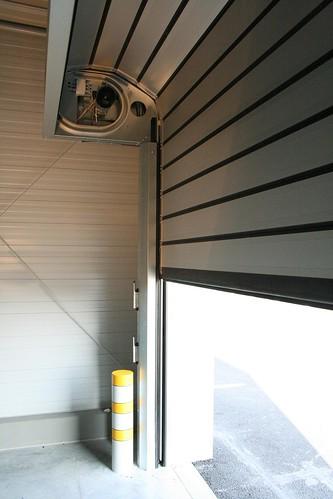Теплые быстрые ворота для автосалона.  Теплі  швидкі ворота для автосалону. Efaflex. Hyundai CZ-Ostrava 008