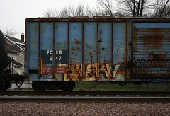 Swerv (quiet-silence) Tags: railroad art train graffiti railcar boxcar graff freight ctw fr8 swerv fcrd fcrd247