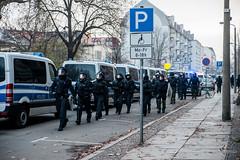 Demotag-Leipzig-Suedvorstadt-005 (zumpe) Tags: demo leipzig südvorstadt barrikaden strasensperren südvostadt polizeistrasensperren le1212