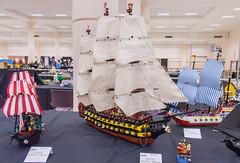 HMS Gallant (SEdmison) Tags: lego navy battle convention naval 2015 brickcon hmsgallant brickcon2015