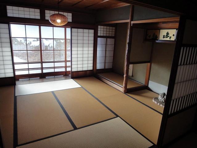 2階の一番奥の部屋まで来ました。|吉島家住宅