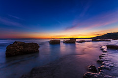 Gulf of Trieste before sunrise (photographe_d) Tags: longtimeexposure seascape sea water sky hdr bay piran europe night early morning