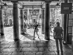Stepping Out in Covent Garden (AubreyAlexanderHill) Tags: blackwhitephotos london urban londra