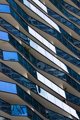 Abstract of Irregular Blue Glass Balcony (danliecheng) Tags: abstract architecture areas bacolny blue contemporary design exterior facets glass harmony highlight irregular light lines material modern parallel pattern reflection shadow