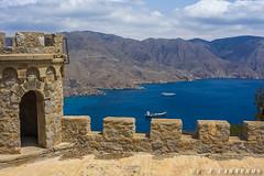 Cartagena. Murcia (F. J. Carneros) Tags: oceano castillitos elports caon defensa ejercito espaa azul castillo barco murcia mediterraneo mar cartagena