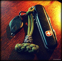 Wenger Wednesday 10/26/2016 (Stormdrane) Tags: wenger swissarmyknife sak traveler blade awl corkscrew microdriver screwdriver bottleopener canopener tweezers toothpick lock nailfile cleaner stormdrane paracord 550cord schmuckatellico kiko tiki pewter lanyard bead skull olivedrab moss black cross shield edc everydaycarry keyring keychain led flashlight beprepared hiking camping backpacking fishing boating sailing scouting military lithium wednesday bushcraft geocache work play pocketdump