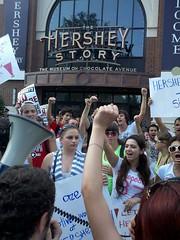 NGA Justice@Hershey's Campaign (National Guestworker Alliance) Tags: national guestworker alliance nga hersheys guestworkers immigration