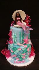 Mermaid Cake (dragosisters) Tags: ocean coral shell cake scales mermaid