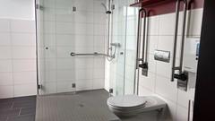 Behindertengerechte Dusche/Bad Jugendherberge Oberwesel