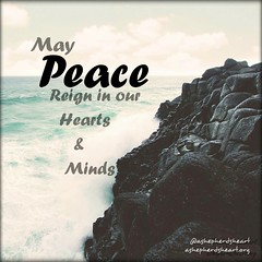 Peace...His Peace... Let it reign. In our hearts and minds.   #peace #hope #faith #joy #truth #wisdom #life #encourage #encouragement #inspire #inspiration #inspirational #inspirationalquotes #quote #quotes #christian #Christianity #christfollower #bible (ashepherdsheart) Tags: scripture quotes life godsword inspire bible quote mind encouragement strength peace christianity inspirationalquotes inspiration truth faith ashepherdsheart encourage soul heart christian christfollower inspirational joy wisdom hope