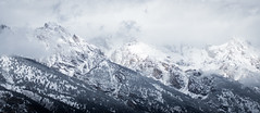 Etched Horizons (fotostevia) Tags: grandtetonnationalpark grandtetons snow mountains winter