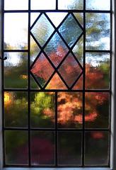 Landing window (Durley Beachbum) Tags: odc window stainedglass leadedlights autumn bournemouth october