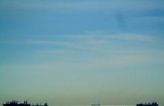 Cielo Pacfico / Pacific Sky (drlopezfranco) Tags: panama ocean oceano pacifico pacific sky cielo ships barcos blue azul