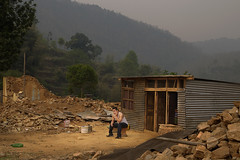 1 year later (Ivo De Decker back from holiday) Tags: nepal nepali outdoor landscape ruin destroyed sad travel kathmanduvalley ivodedecker
