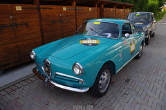 Alfa Romeo Giulietta Sprint (Andrea the sleeper) Tags: coppa doro delle dolomiti cortina dampezzo scuderia del portello race racecars unique cars car competition classic rare automotive photographer andrea osti sleeper ostiandrea