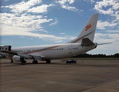 N458UW Boeing 737-4B7 Swift Air (corkspotter / Paul Daly) Tags: n458uw boeing 7374b7 b734 25022 2010 l2j a591ab pqfg awe us airways 1991 20080901 swift air