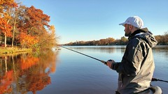 Fall Smallmouth Fishing (jpellgen) Tags: fishing bass smallmouth river mississippi 2016 fall autumn october fish mn minnesota midwest usa america